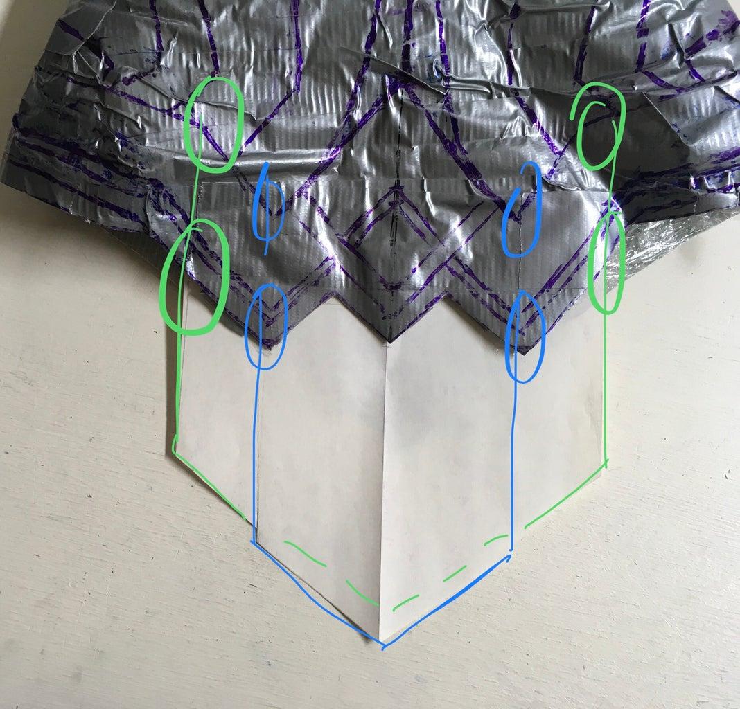 Gladiator Skirt: Patterning