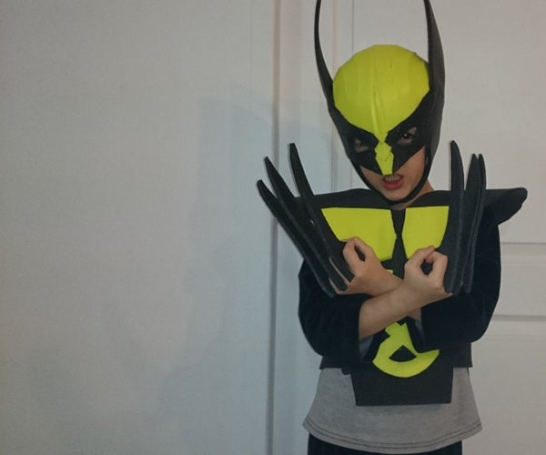 Wolverine Kid Costume (foam)