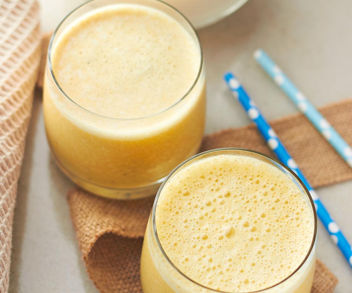 Activated Almond Milk Turmeric Smoothie