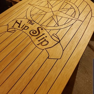 Wooden Floor for a Seahawk 4 Fishing Raft