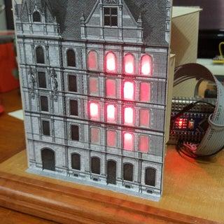 The Binary Clock - the City Clock