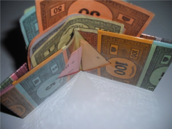 Monopoly Money Wallet