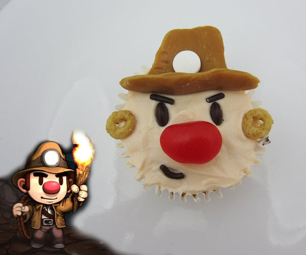 Spelunky Cupcakes