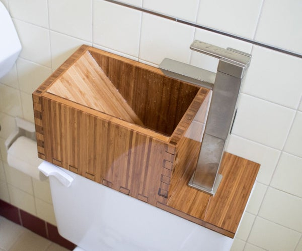Toilet Top Sink
