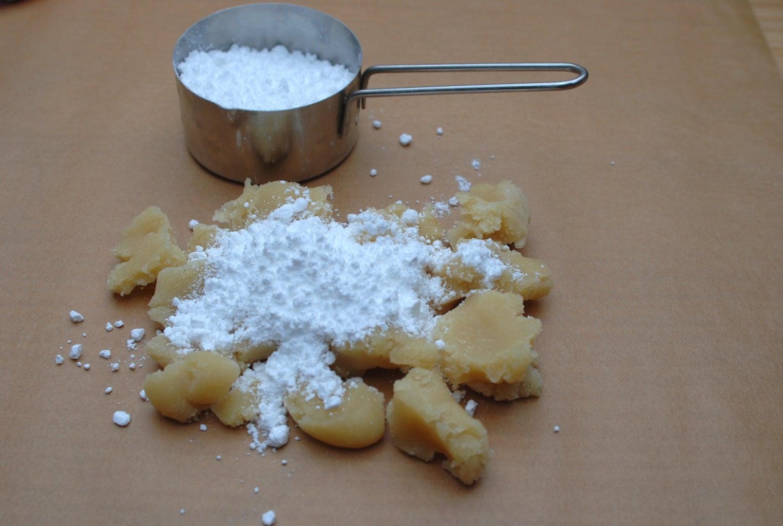 Marzipan Wieners - Preparing