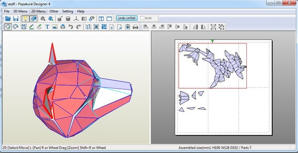 Change Dimensions and Unfold Your 3D Model