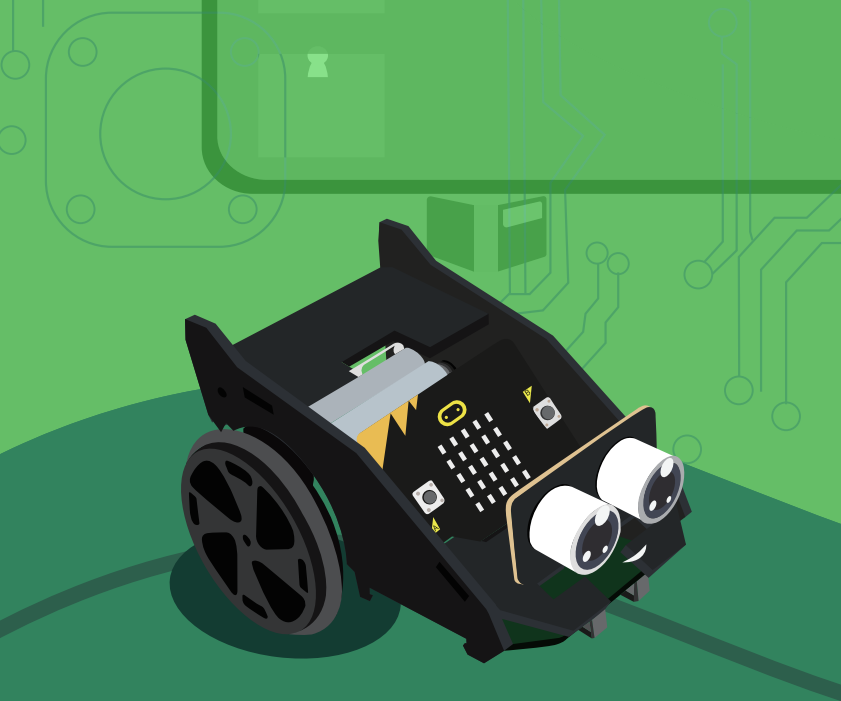 Micro:bit Robot Control With Accelerometer