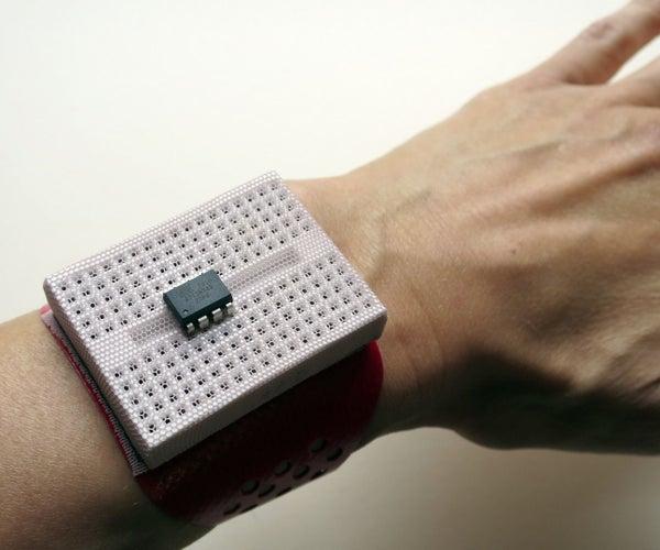 Pincushion Breadboard Bracelet