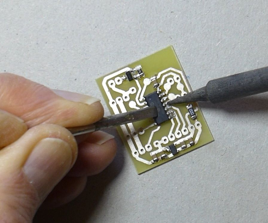 SMD Soldering – Standard, No-lead and Thermal Pad Packages