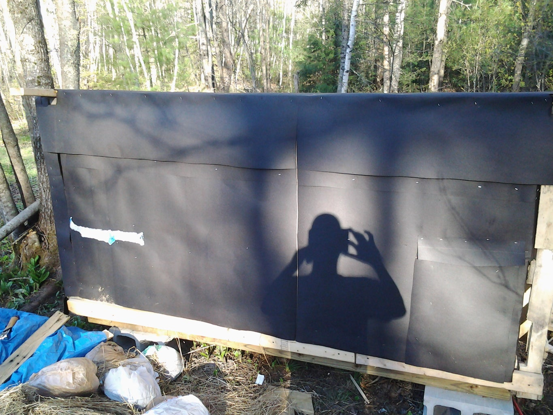 Sheathing the Walls