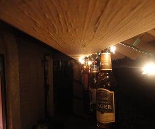 Beautiful Beer Bottle Christmas Lights