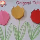 How to make an Origami Tulip Flower Instructions