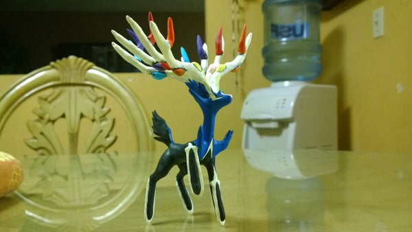 How to Make Xerneas Out of Clay