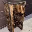 Torched 3 Cube Organizer Shelf