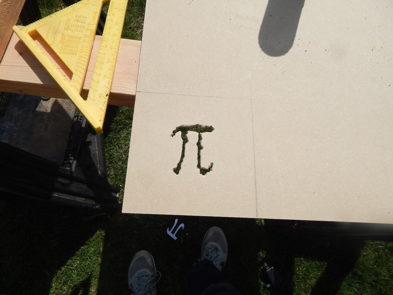Step 1: the Box: Top and Sides With Pi Emblem