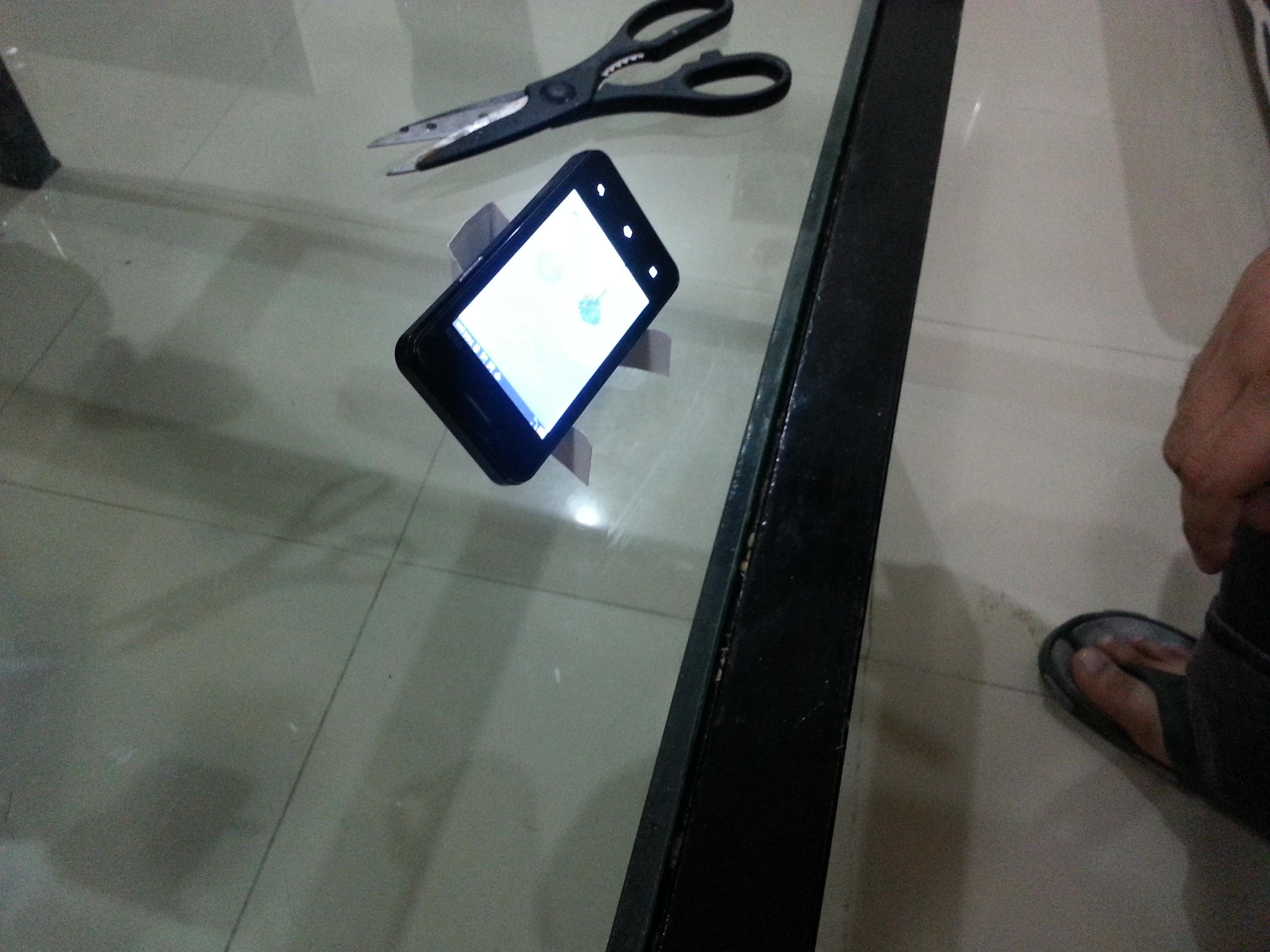 Cell Phone Desktop Movie Stand