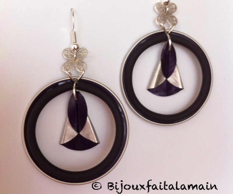 How to Make Dahlia Petal Earrings