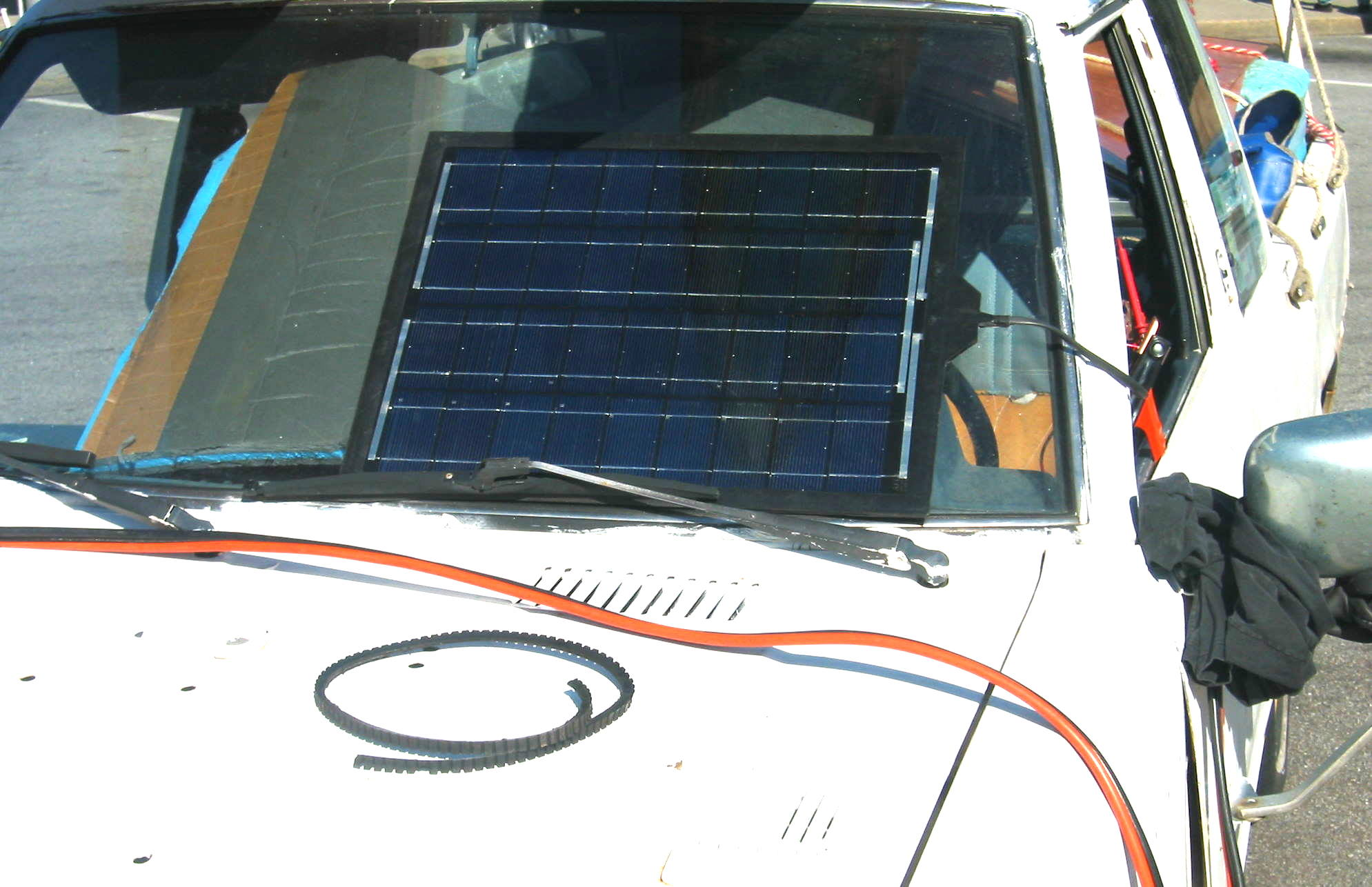 Solar Car Battery Charger DIY