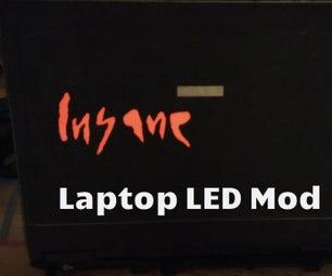 Laptop LED Mod