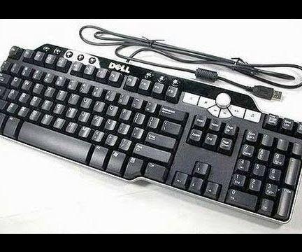 Dell SK-8135 Keyboard USB Upgrade Mod.