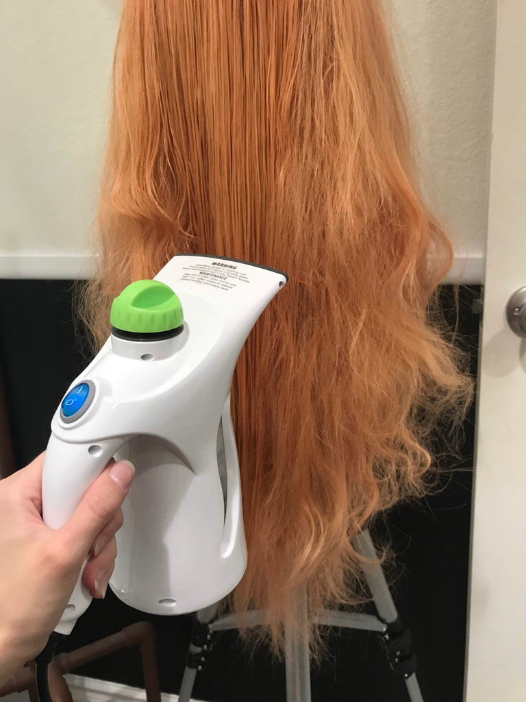 Steam the Poof Away!