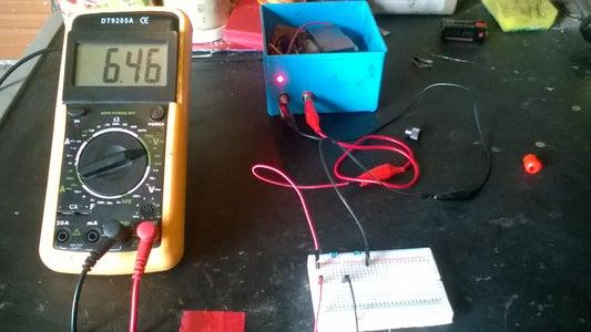 Mesure Voltage