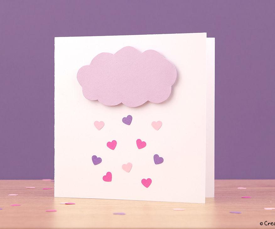 Love Rain Cloud Card