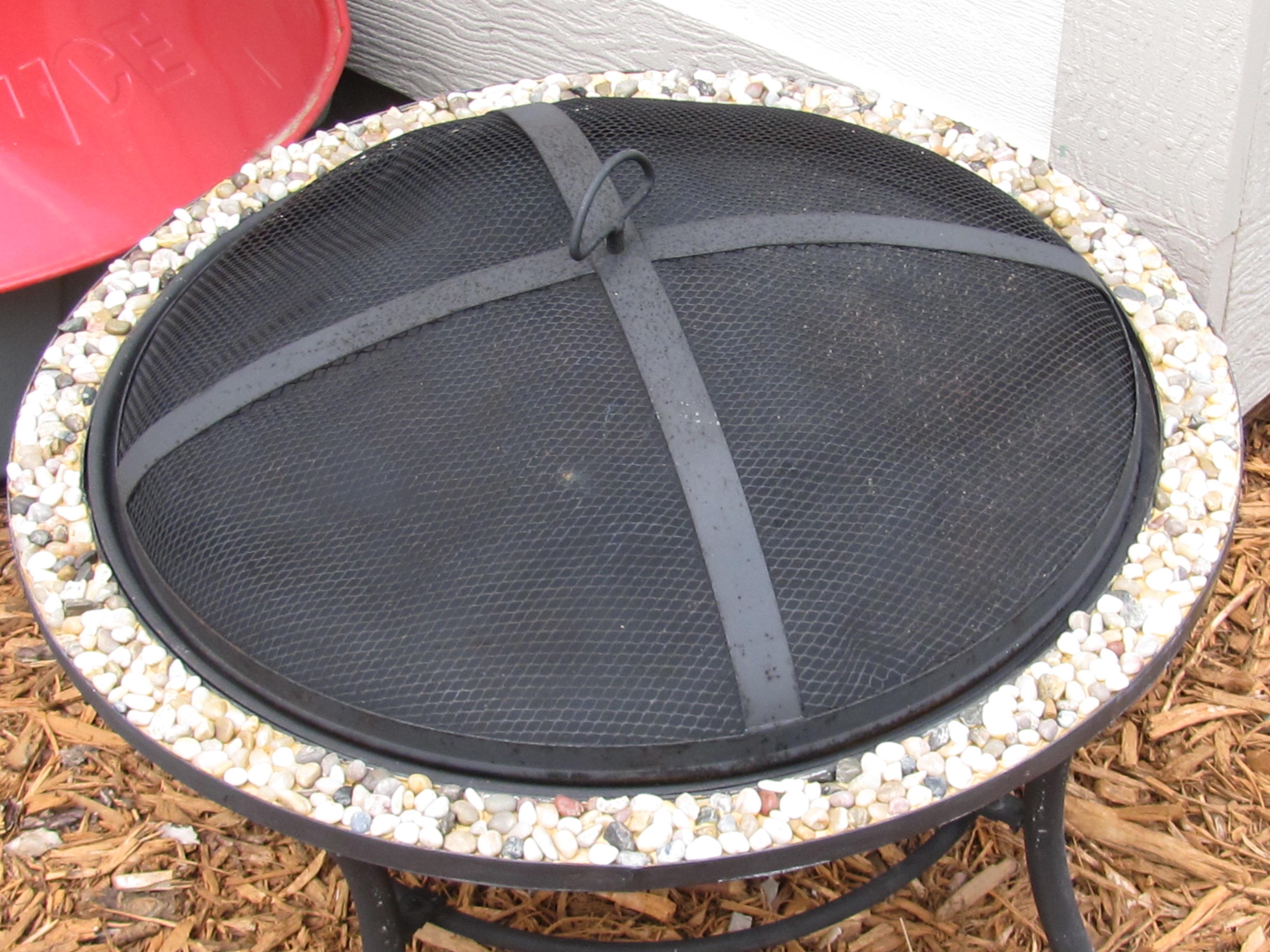 Refurbish an Outdoor Firepit