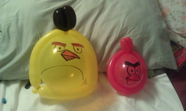 Angry Balloons: Red and Yellow