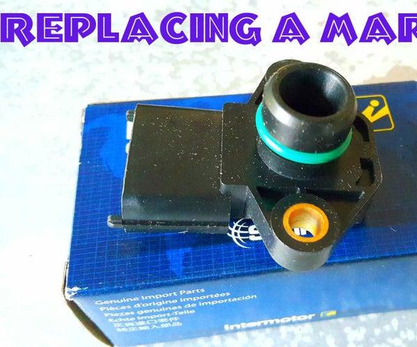Replacing a Map Sensor (Hyundai Trajet/sonata)