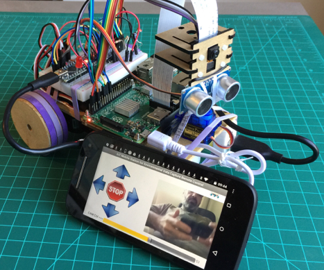 "Mobile Station prototype for Environmental Data Capture (""a Mars Rover emulator"")"