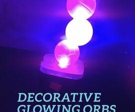 Customizable Decorative Glowing Orbs