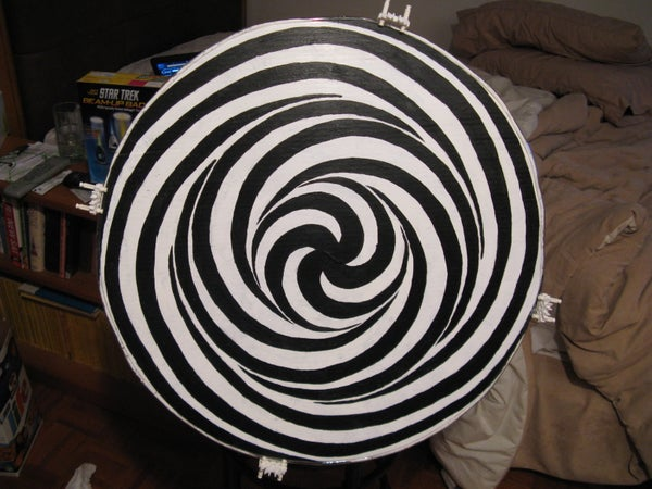 Make a Motorized LSD Spiral - a Powerful Illusion on Your Wall!