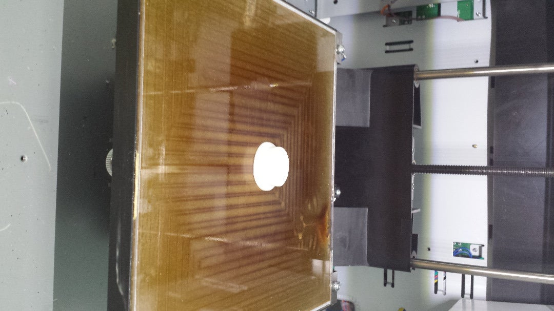 3D Printed the Top Plug