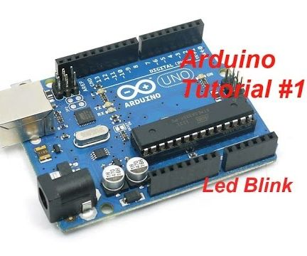 How to Blink a Led - Arduino Tutorials by TechspaceCrafter