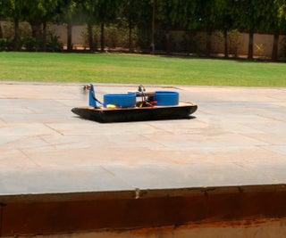 基于Evive Arduino嵌入式平台的智能手机Conrolled气垫船