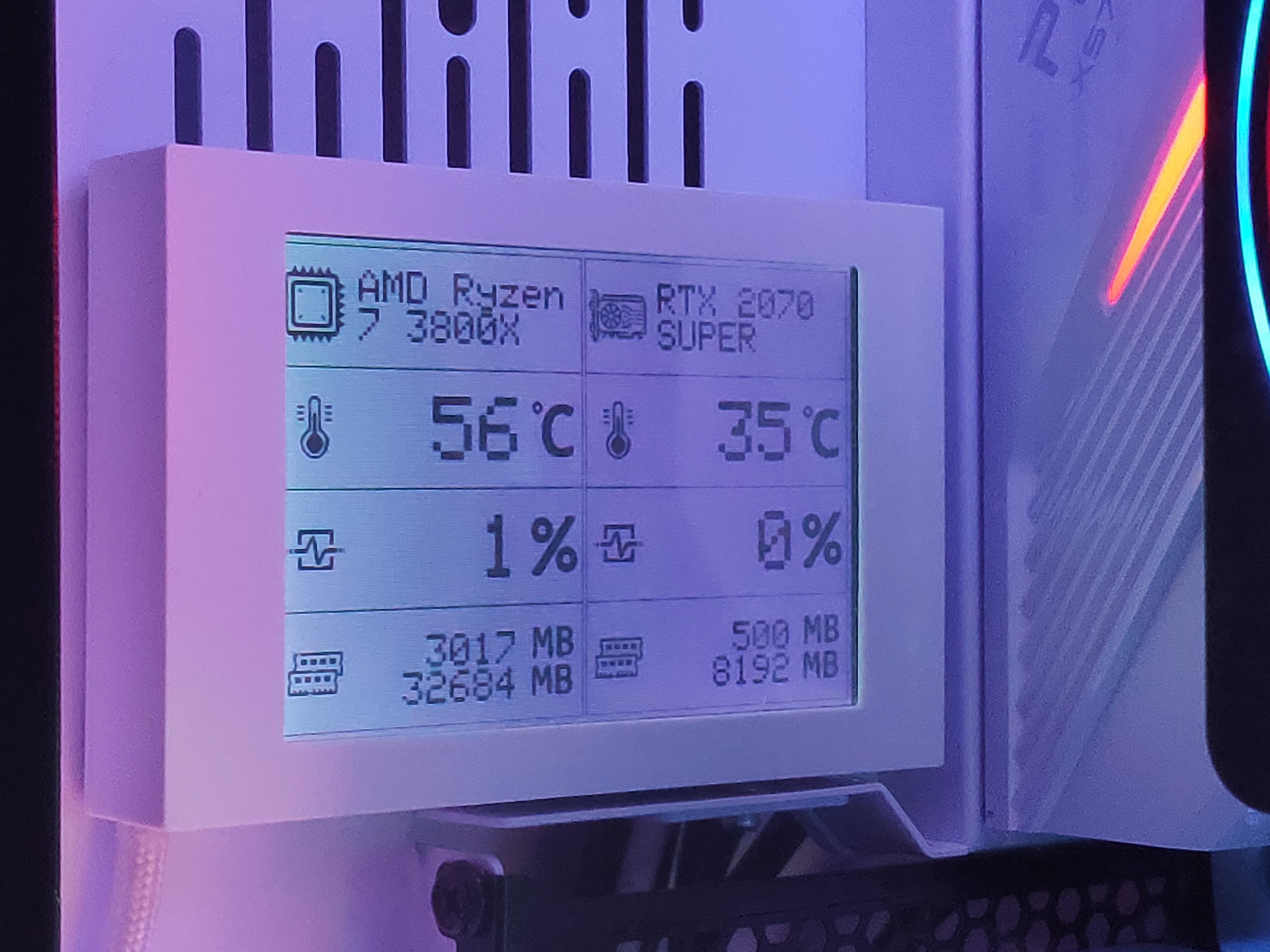 PC Hardware Monitor