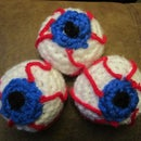 Crochet Eye Juggling Balls