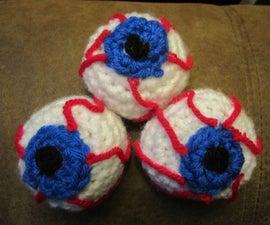 Crochet Eye Juggling Balls