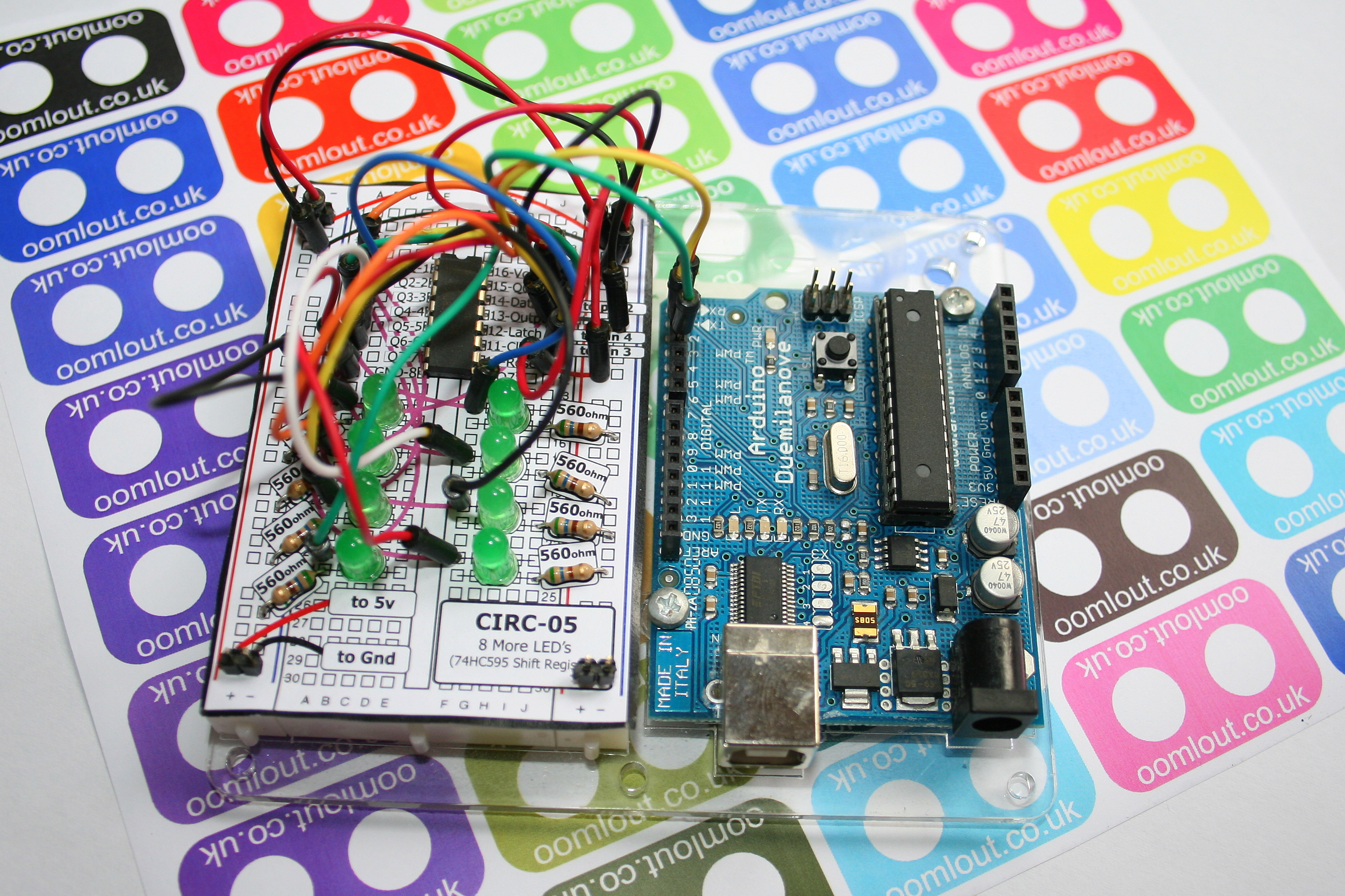 Arduino Tutorial Bundle .:Arduino Experimentation Kit:. (ARDX)