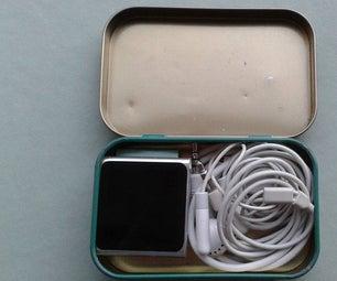 IPOD Storage Tin or Hiding Place