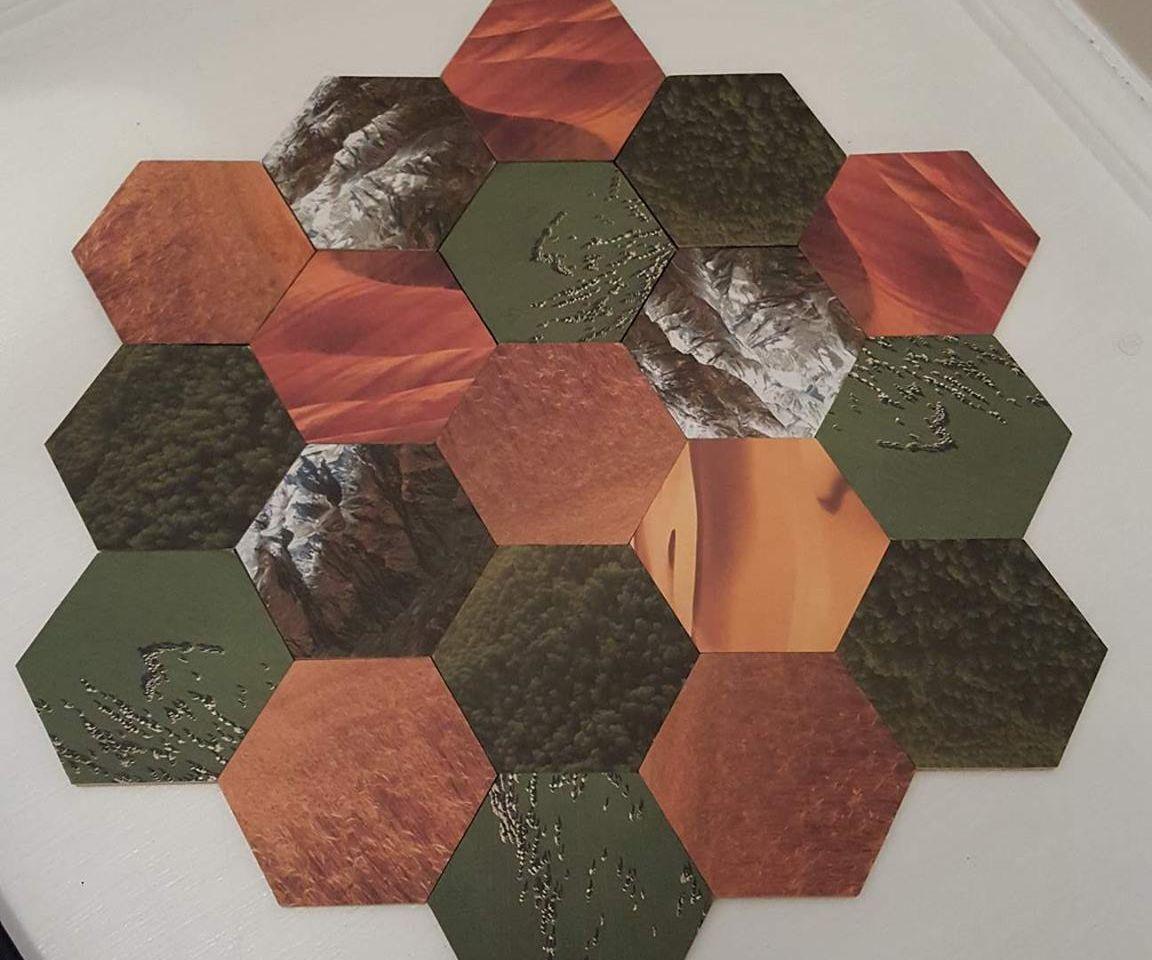 Laser Cut Catan Board
