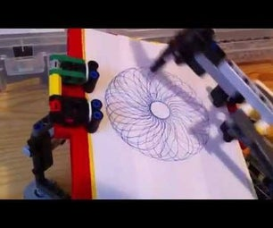 Build a Lego Spirograph