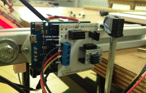 Place the Arduino Shield