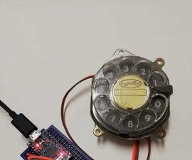 DIY Analog Dialer to USB Keyboard