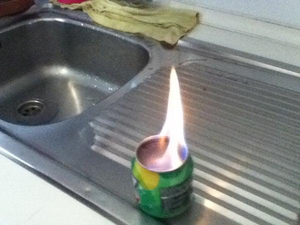 DIY Alcohol Burner for Camping