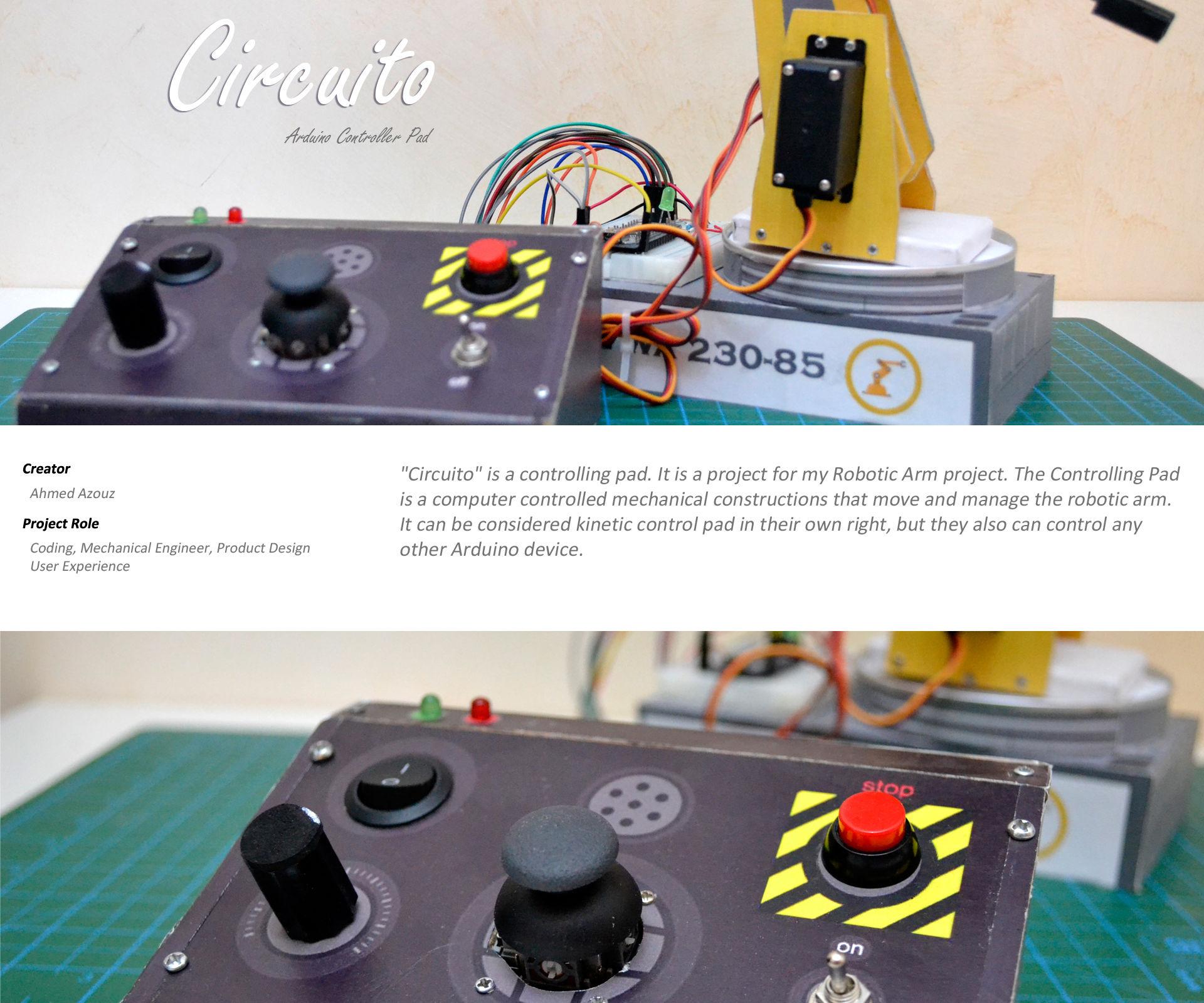 Circuito Arduino Controller Pad