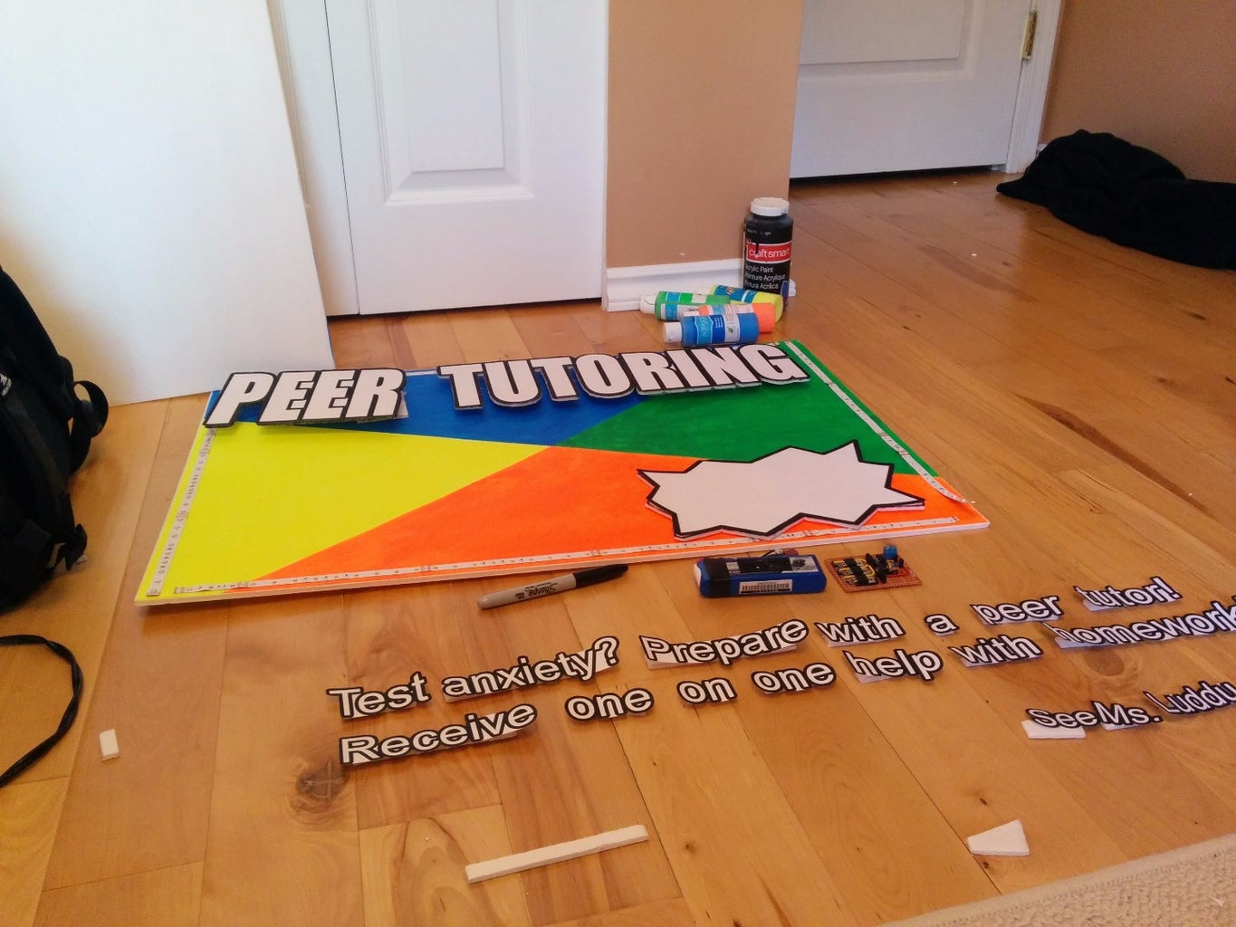 Decorating the Poster