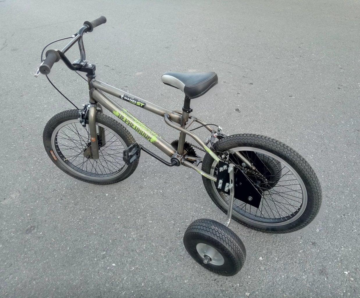Heavy Duty Bicycle Training Wheels