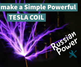 Tesla Coil - the Russian Slayer Exciter